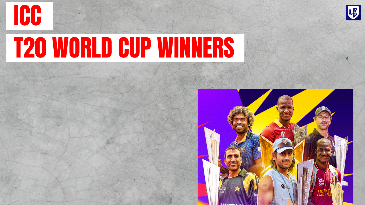 winners of the ICC T20 World Cup
